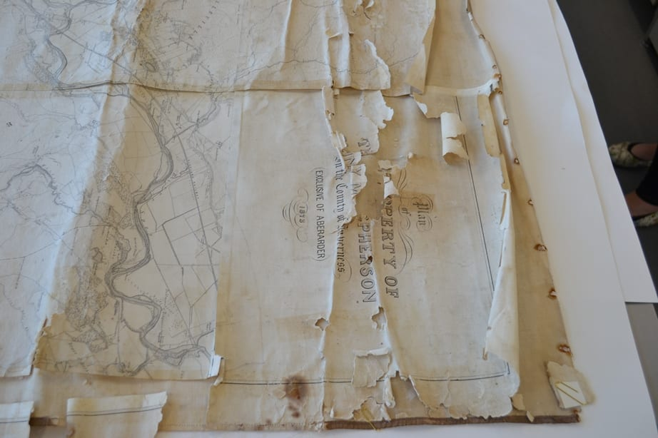 Plan of the property of Cluny Macpherson in the County of Inverness Exclusive of Aberarder