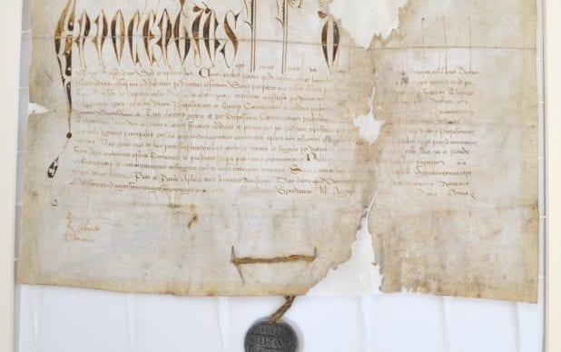Tain Papal Bull - 1492