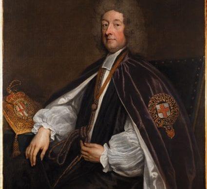 Conservation of William Talbot by Sir Godfrey Kneller
