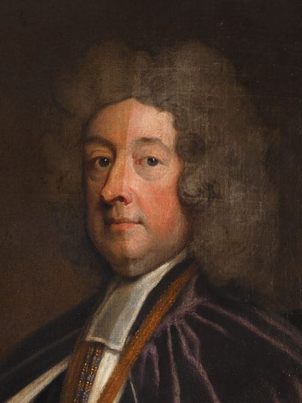 Conservation of William Talbot by Sir Godfrey Kneller