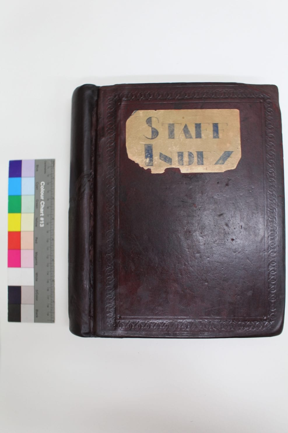 HSBC Staff Index – 1920's Spring Back Account Binding