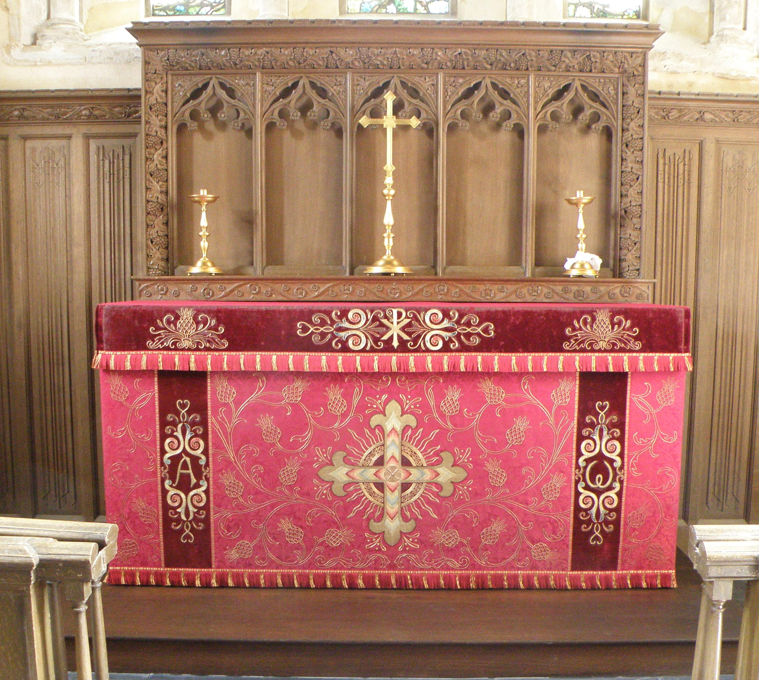 Altar Frontal, St Mary's Church, Ickworth Church Conservation Trust