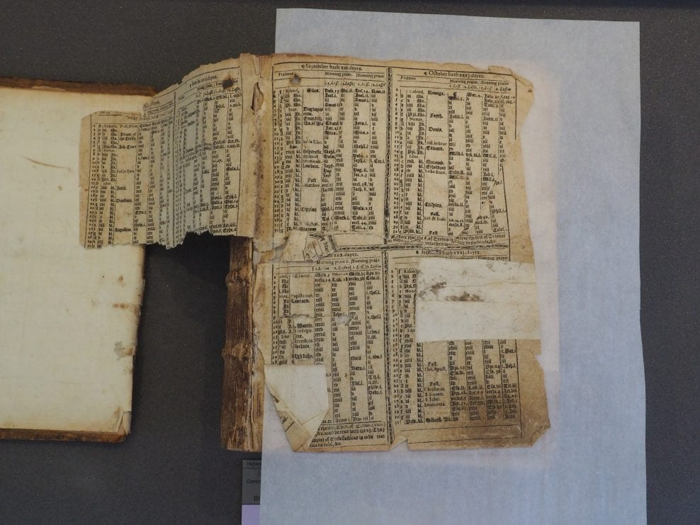 Pickering Donation Book, Trigge Library, the Church of St Wulfram, Grantham