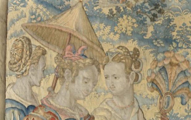 Francois Spiering Tapestries, Venetian Room, NT Knole