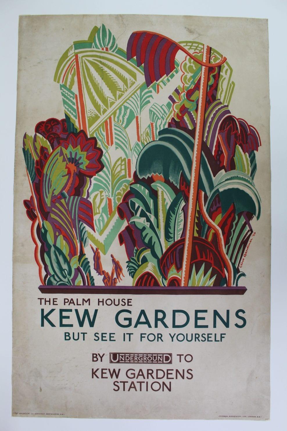 Gardiner Kew Garden Poster - After