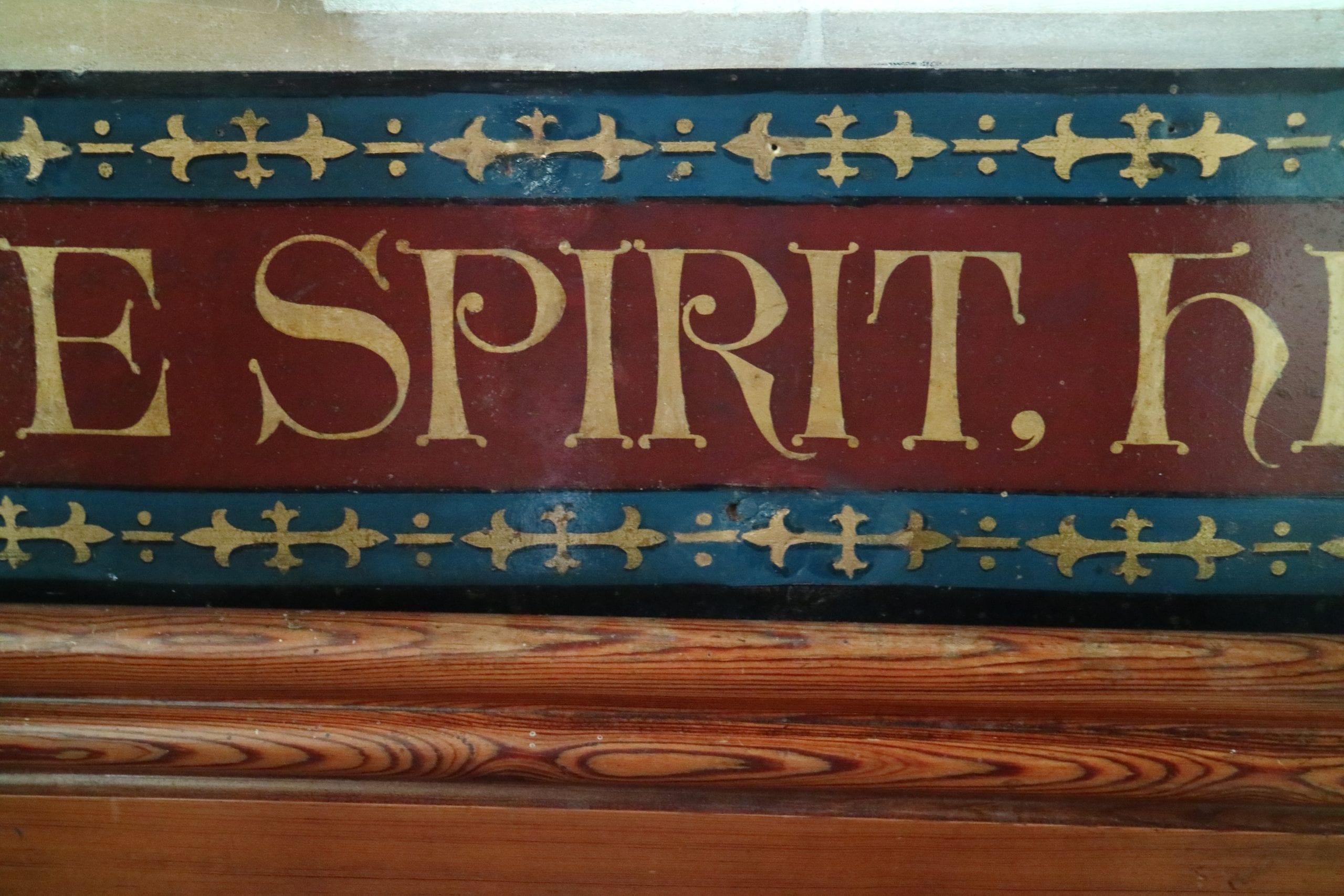 St Esprit Church Panels