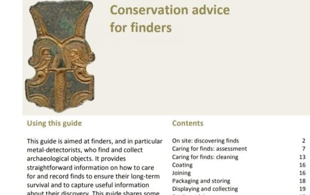 Conservation Advice for Finders