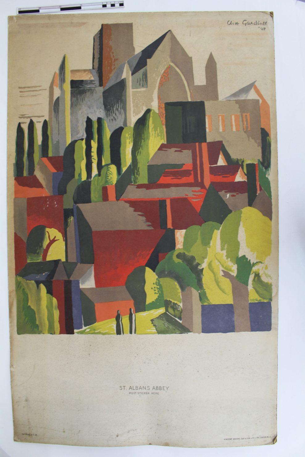 Gardiner St. Albans Poster - Before