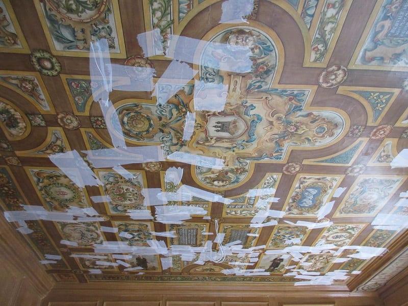 Patrick Geddes Centre, Riddle's Court (Royal Mile, Edinburgh) – Thomas Bonnar painted ceiling