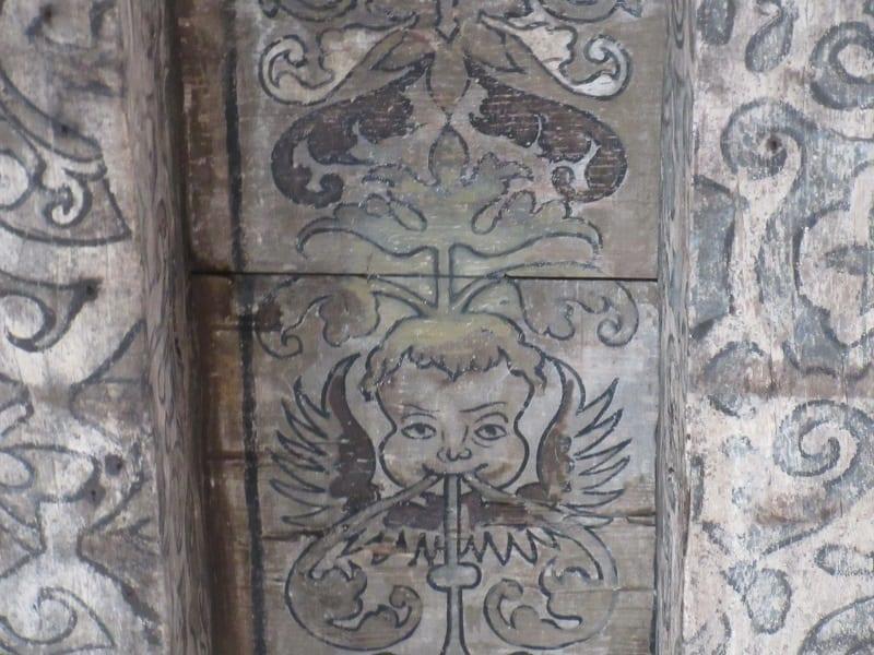 Scottish Renaissance painted decoration – Riddle's Court (Royal Mile, Edinburgh)