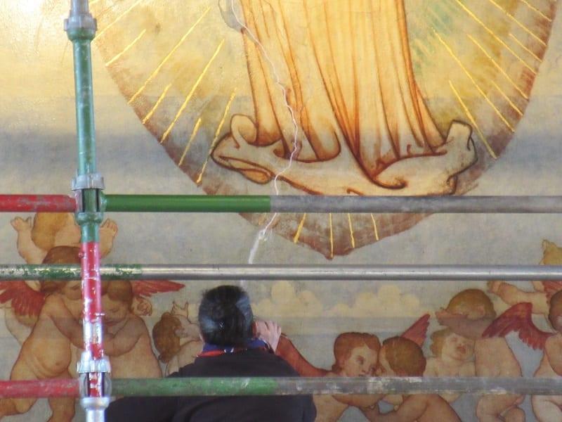The Mansfield Traquair Centre (Edinburgh) – Phoebe Anna Traquair murals scheme