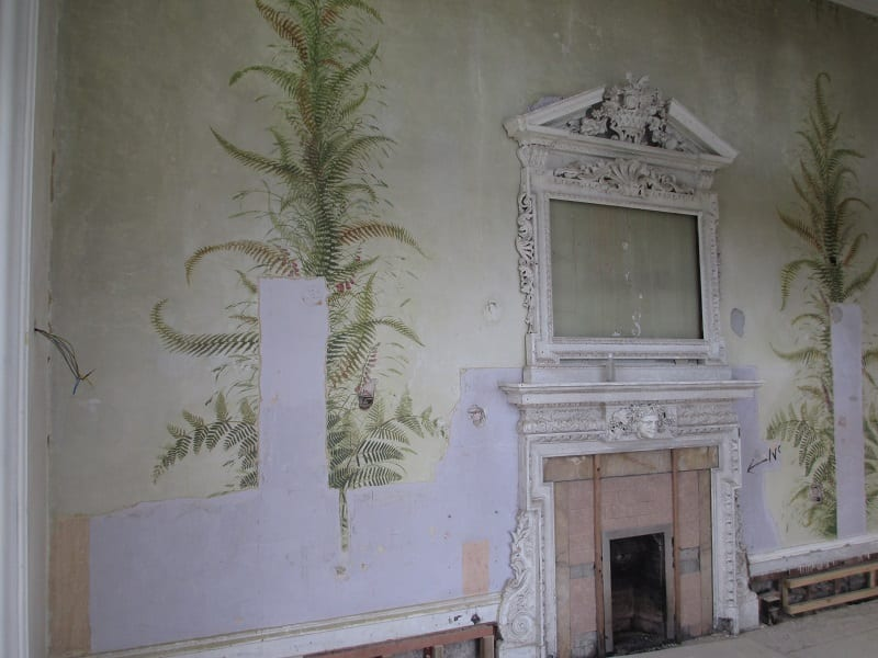Lews Castle, Morning Room (Stornoway, Outer Hebrides) – revealing, conserving and restoring Victorian murals scheme