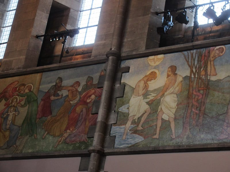 The Mansfield Traquair Centre (Edinburgh) – Phoebe Anna Traquair murals scheme