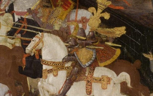 The Restoration of 'The Battle of Pharsalus', a cassone panel, by Apollonio di Giovanni (c.1403-1489)