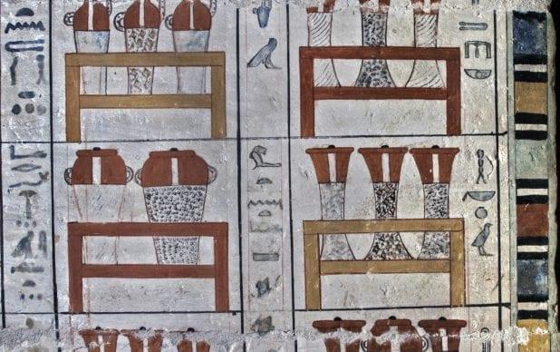 Tomb of Pepyankh, Sakkara, Egypt. Dated to the Old Kingdom.