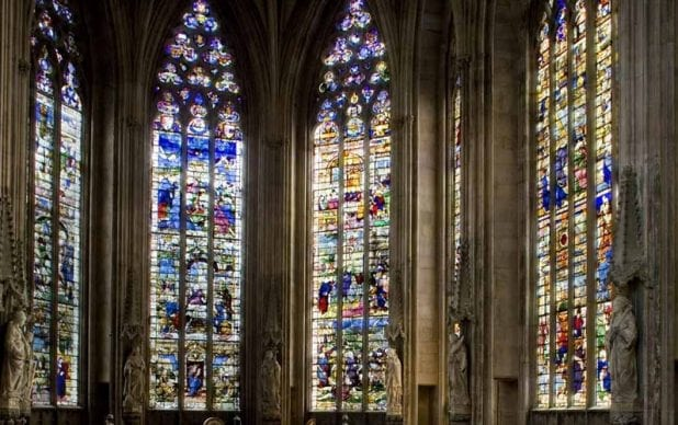 Lichfield Cathedral, Staffordshire: Conserving and Protecting the 'Herkenrode' Windows