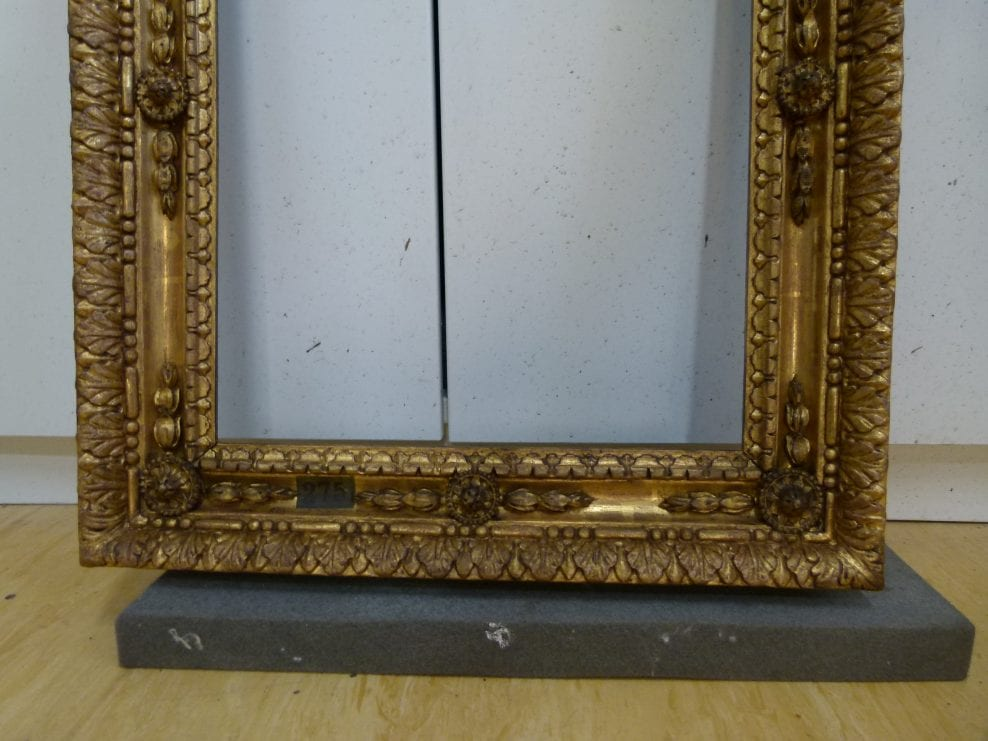 Conservation of Chippendale Frames for Nostell Priory