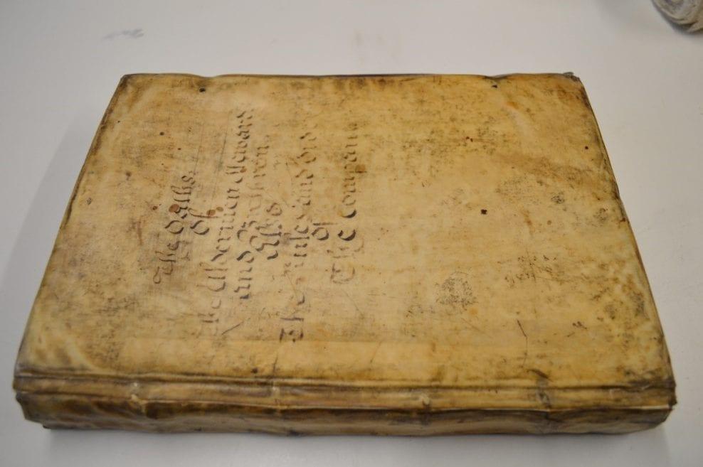 Innholders Company Record Book, 1571