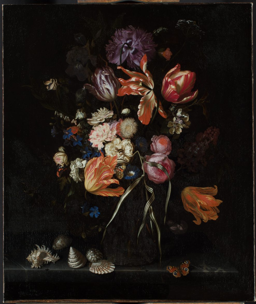 Painting photographed After Treatment