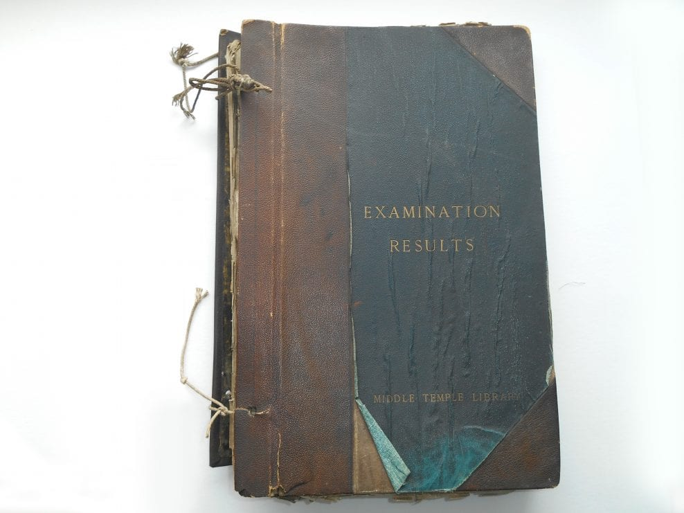 Examination Results Post Binding Album