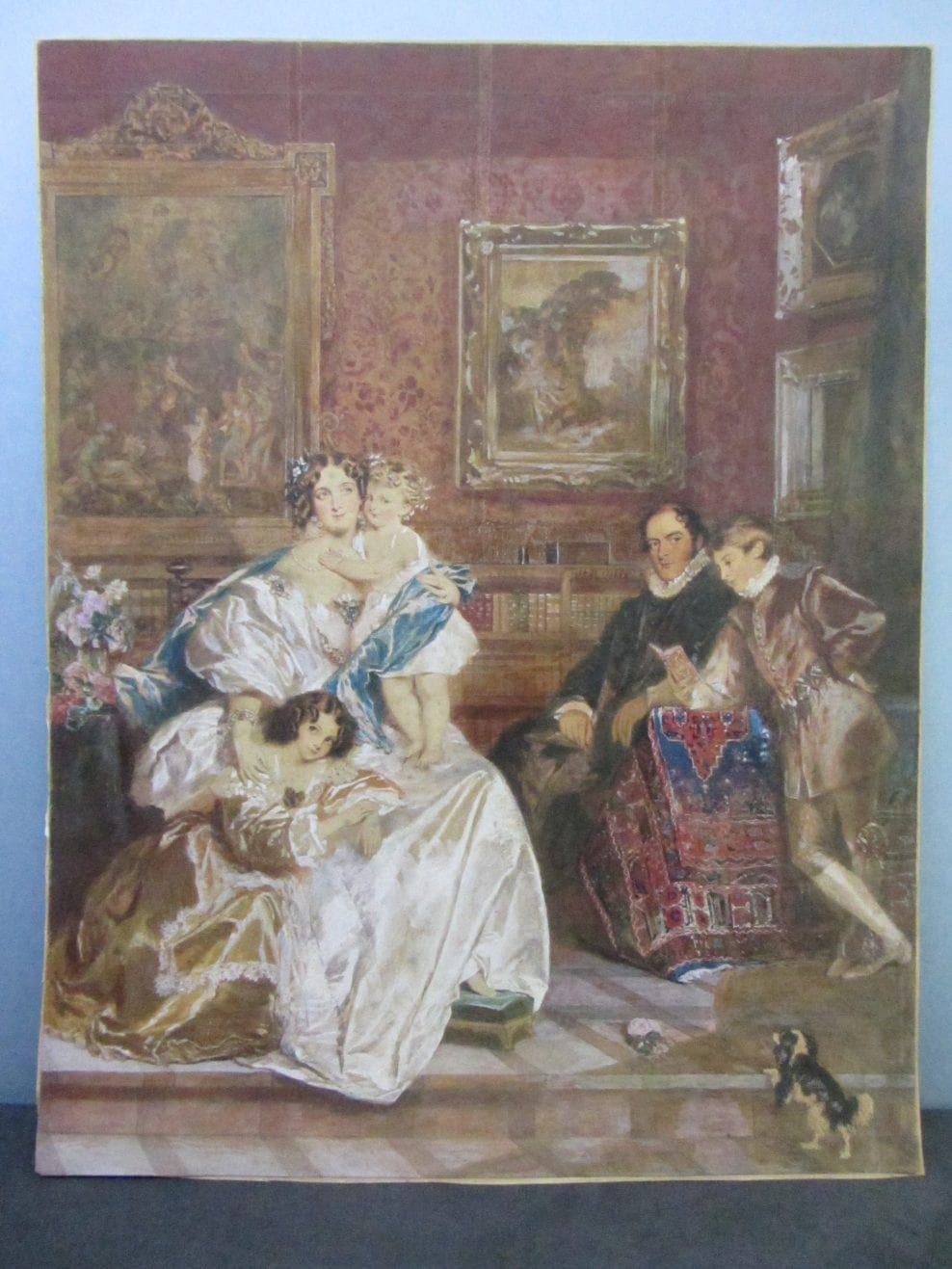 Conservation of a 19th Century Family Portrait