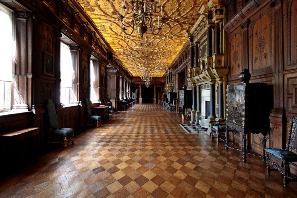 Hatfield House Long Gallery Conservation