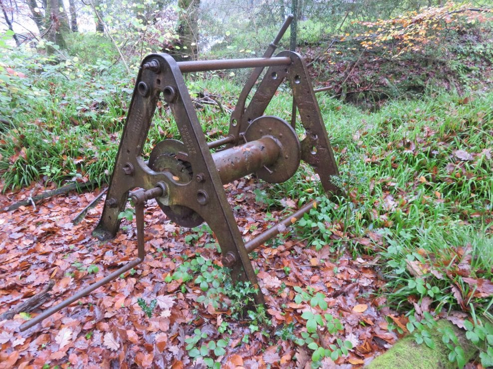 Conservation of Little Milford Winch for the National Trust