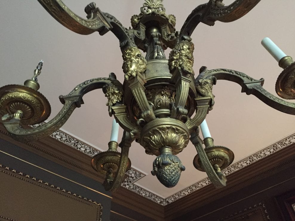 Chandelier Cleaning and Conversion