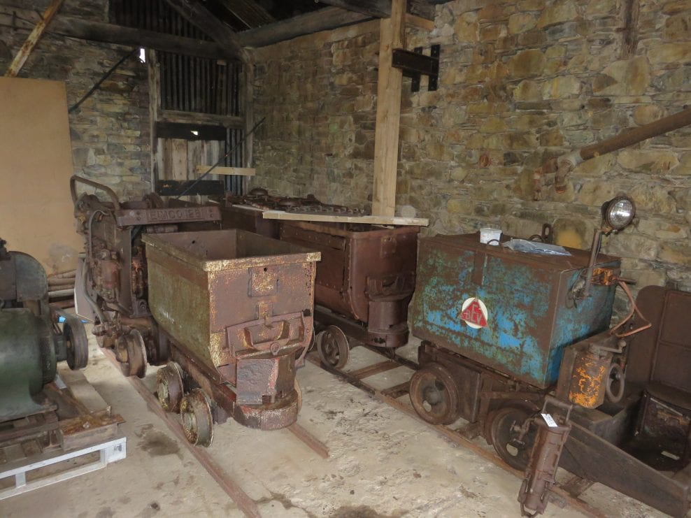 Machinery Conservation at Force Crag Mine, Cumbria, for the National Trust