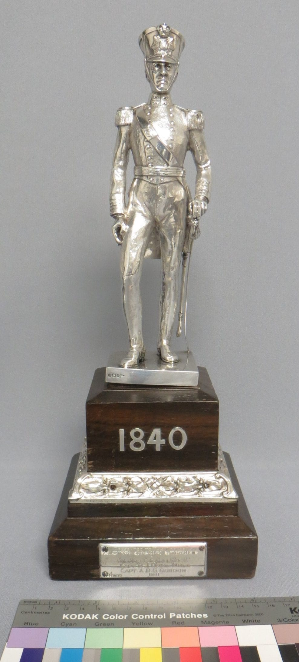 Silver cleaning, National Army Museum