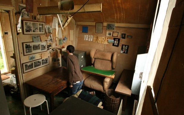 Roald Dahl Writing Hut Decant, Conservation and Redisplay Project, Roald Dahl Museum and Story Centre