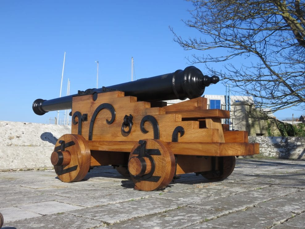 Historic Ordnance Conservation and Maintenance for English Heritage