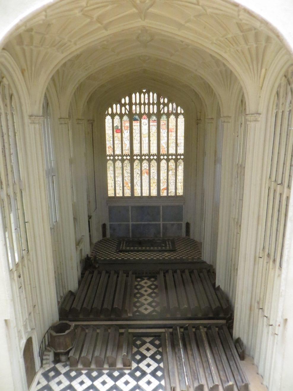 Conservation of Eton Chapel model, Eton College