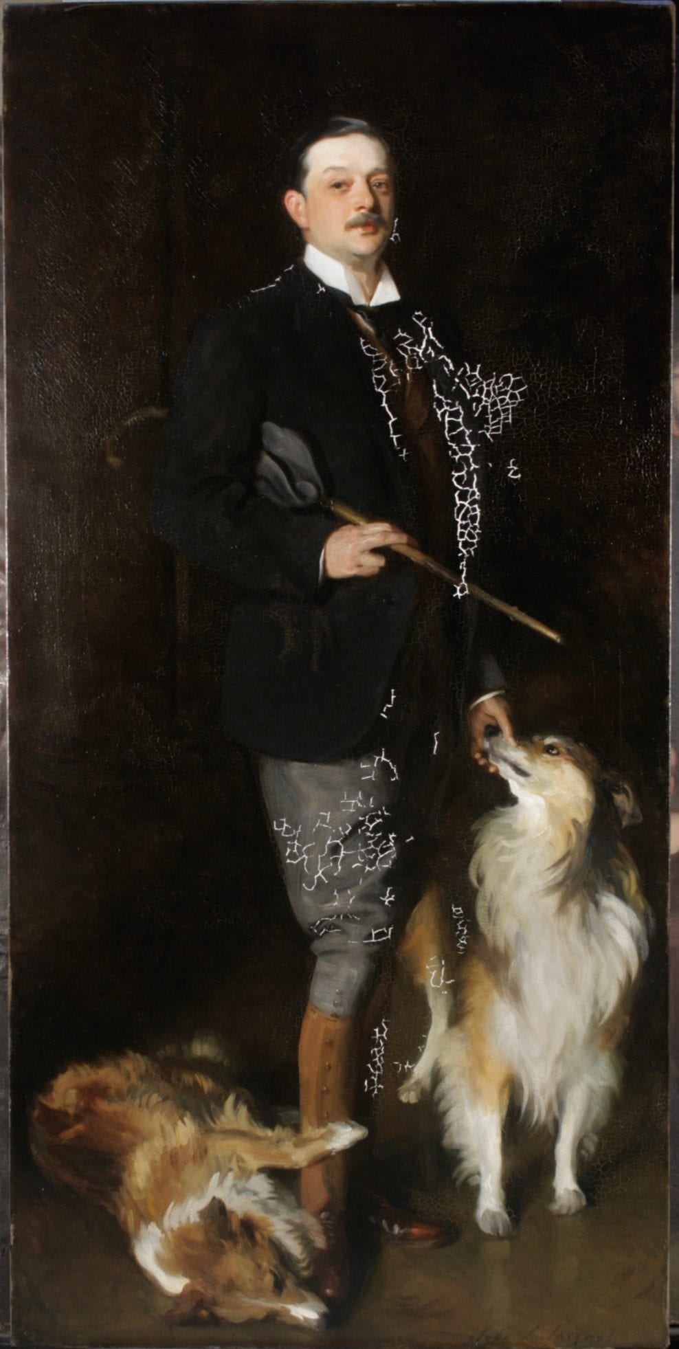 The Conservation of William 6th Duke of Portland, by John Singer Sargent