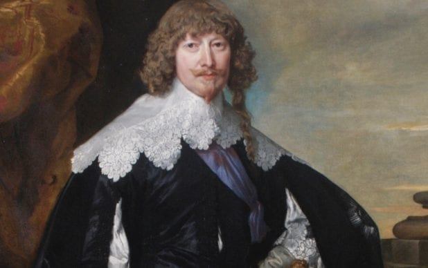 The Conservation of William Cavendish, 1st Duke of Newcastle, by Sir Anthony Van Dyck
