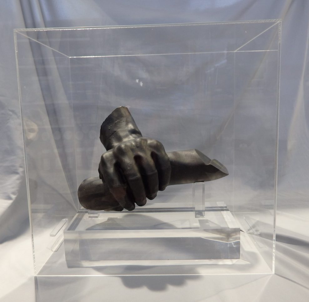 All that remains of GSA Laocoon is his hand 2019 after two fires 2014 and 2018