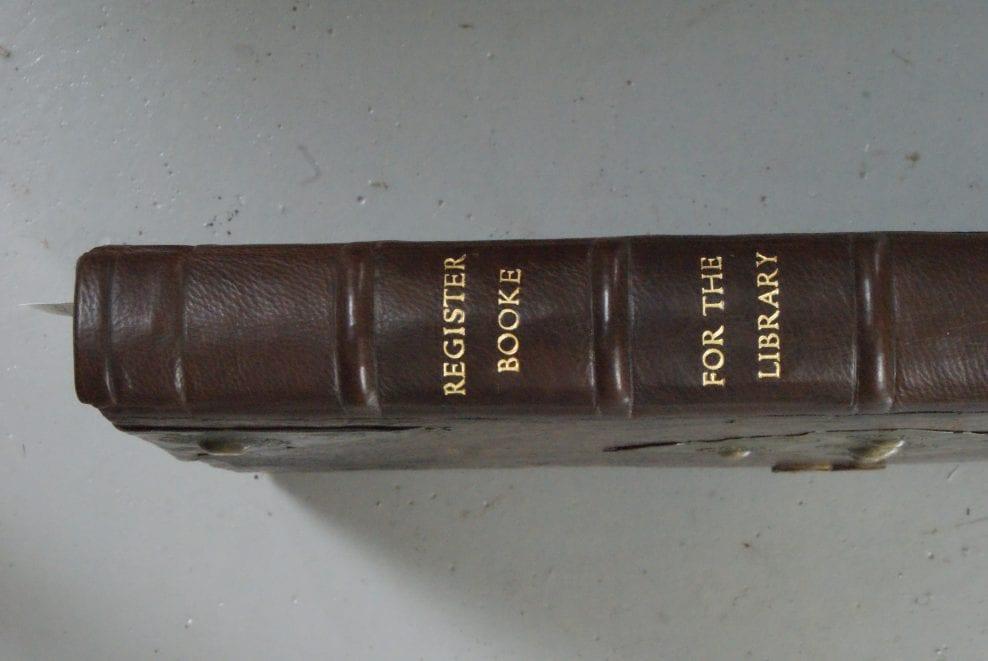 Shrewsbury School Benefactors Book