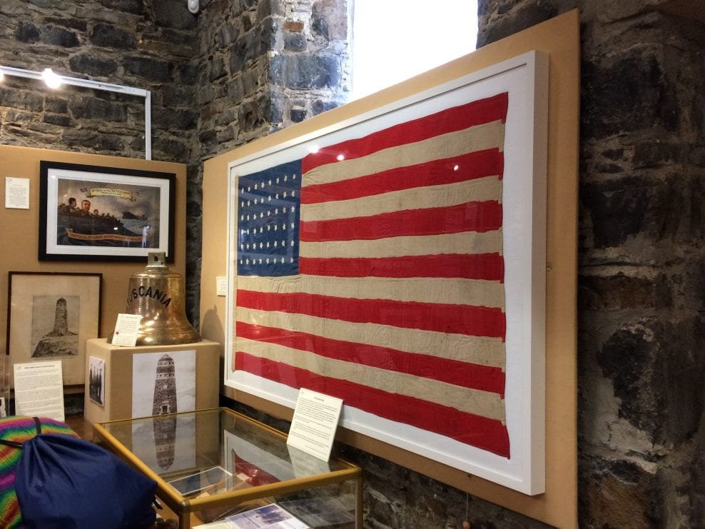 The '48 Star Flag' – loan conditions at the Museum of Islay Life