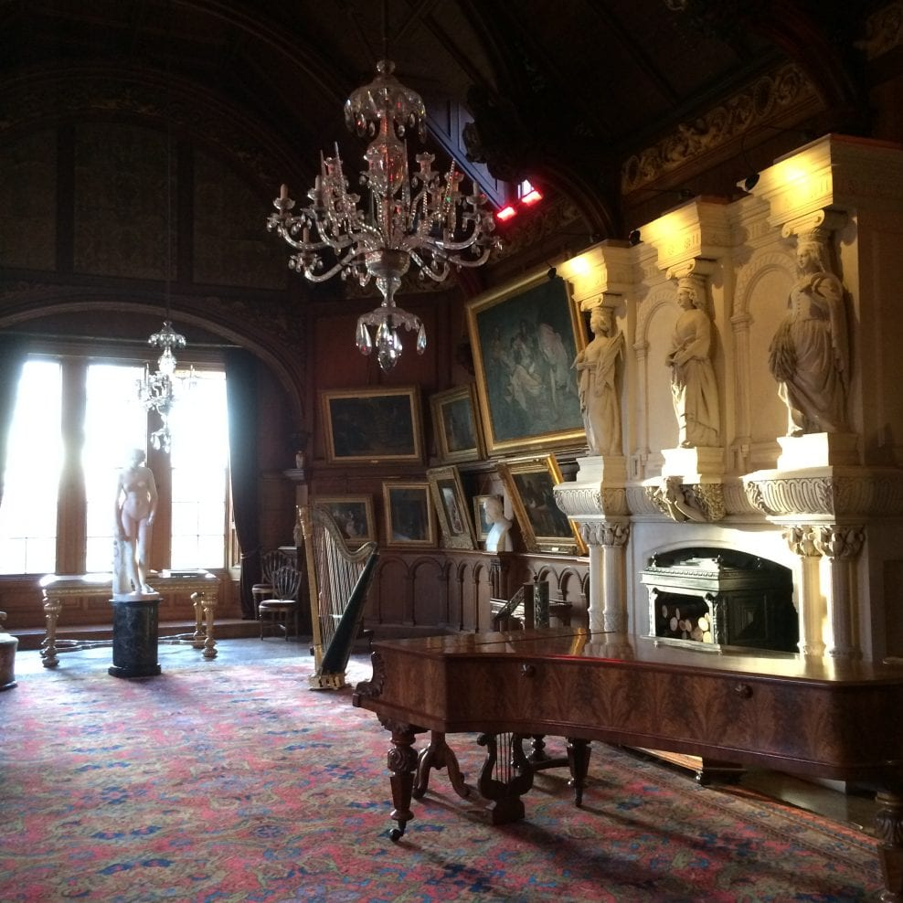 'An important Victorian Room' at Hospitalfield House