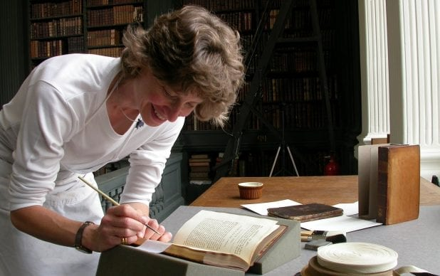 Conserving the books in the Codrington Library at All Souls College, Oxford
