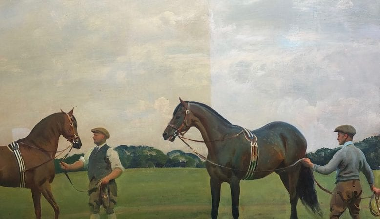 Munnings: removing varnish