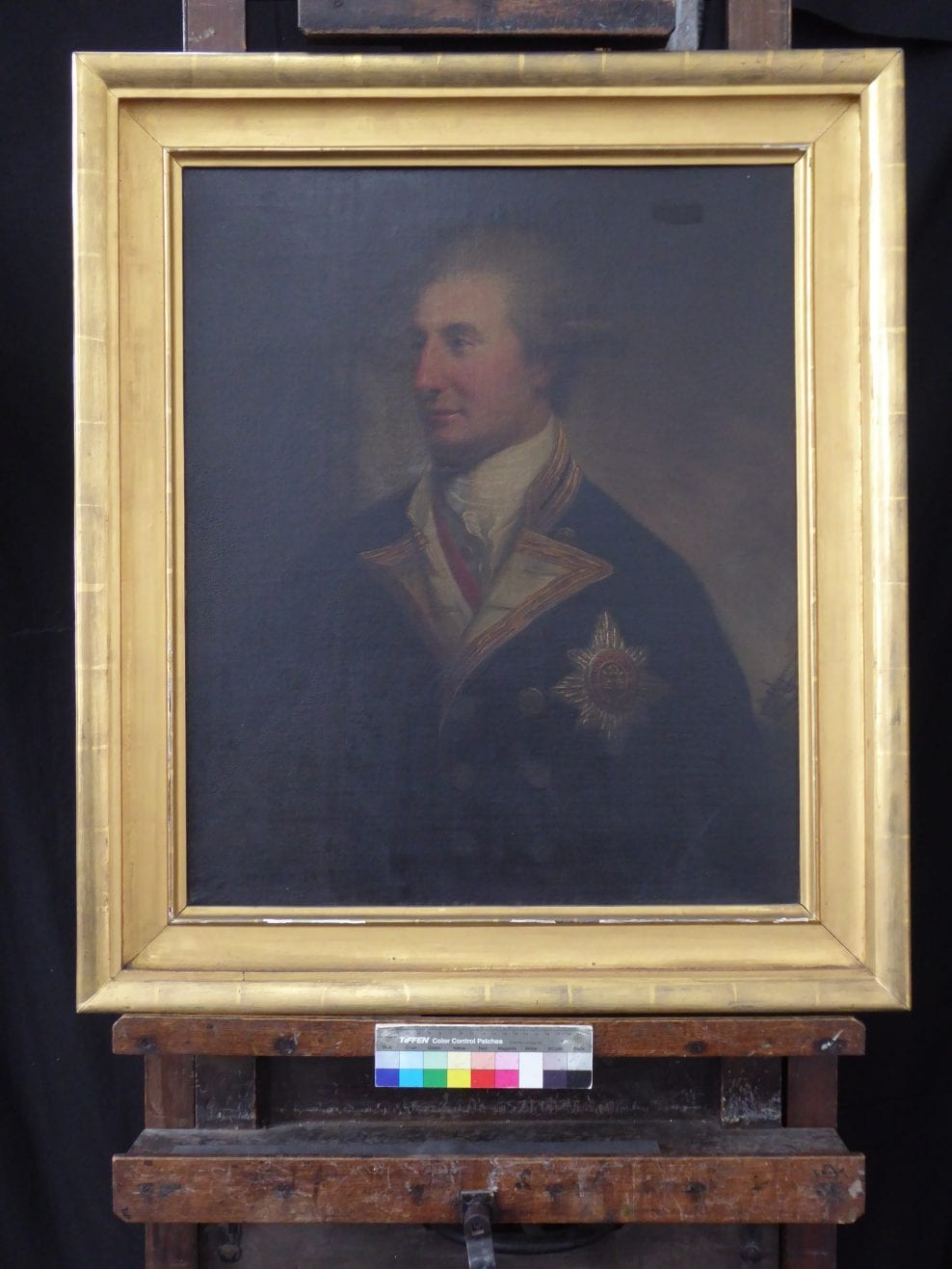 Portrait of Sir John Lindsay by David Martin (1737 – 1797)