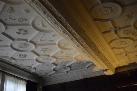 East Riddlesden Dining Room ceiling