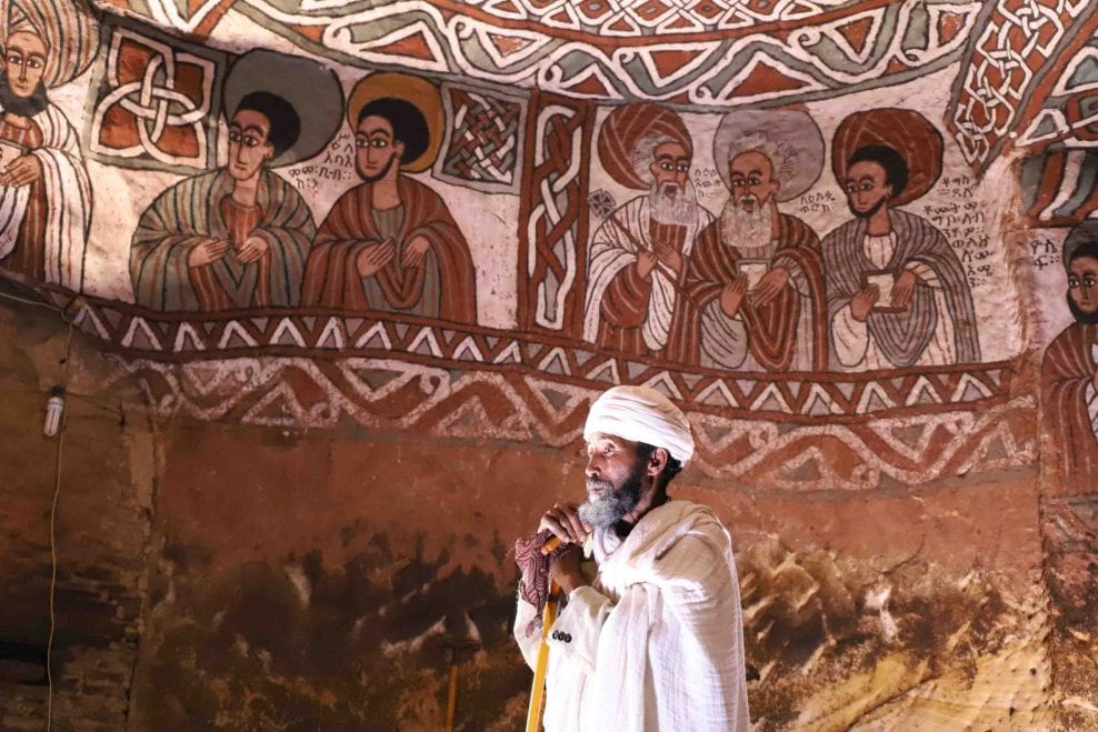Survey of the rock-cut painted churches of Tigray, Ethiopia