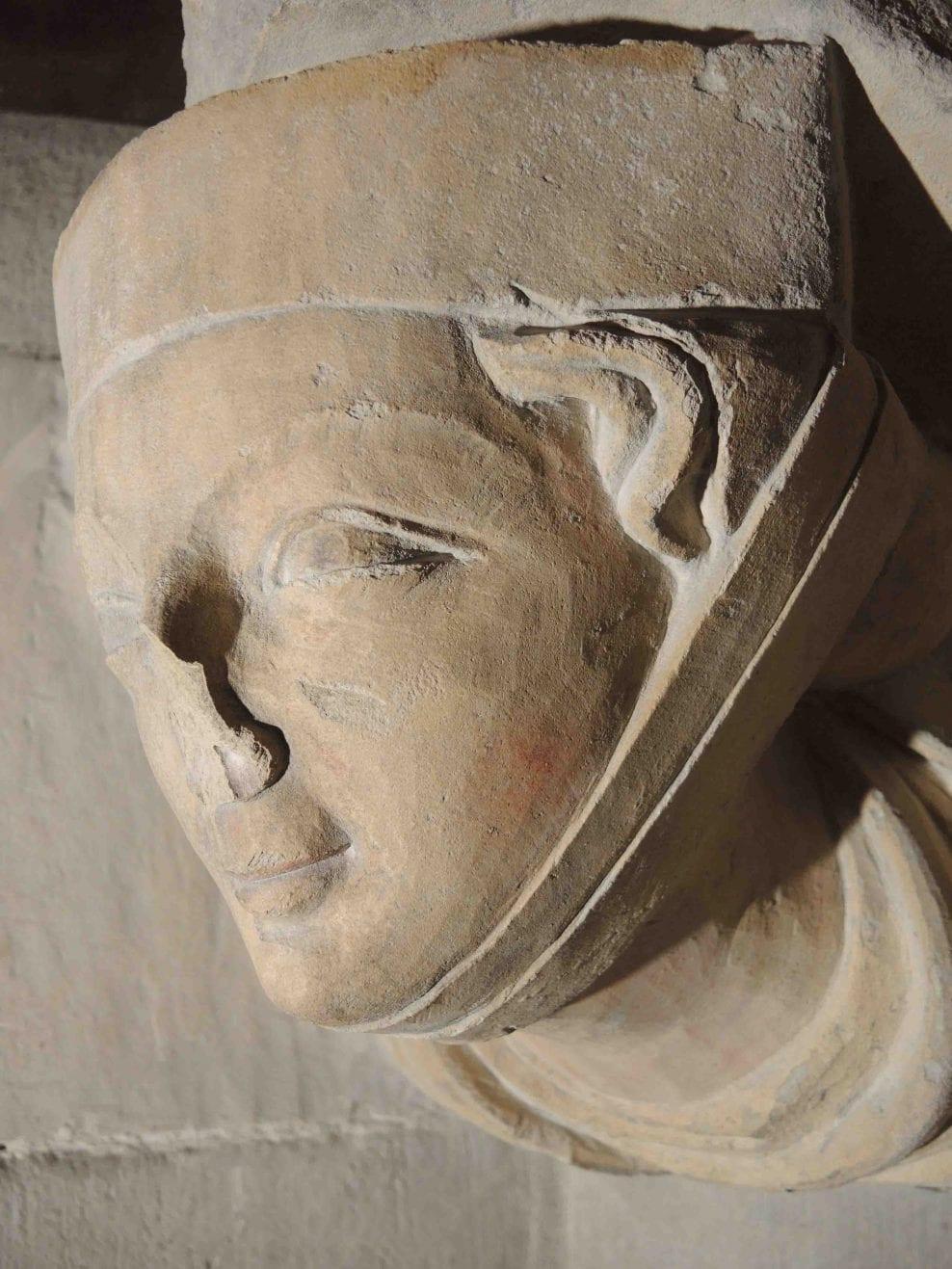 Westminster Abbey, Triforium sculpture