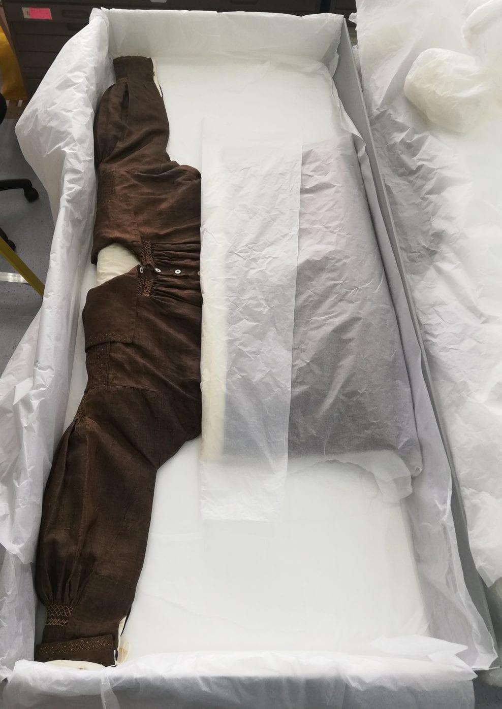 Waterproofed Smock from Worthing Museum