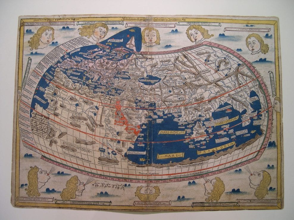 Restoration of a sixteen century atlas