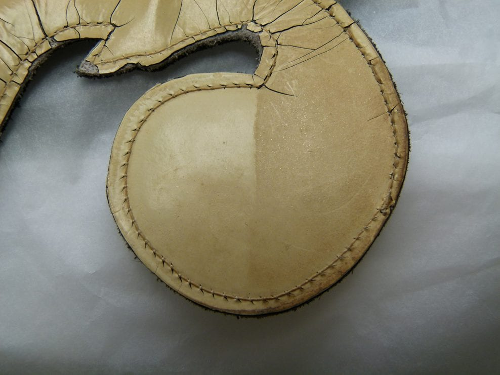 Couture costume conservation