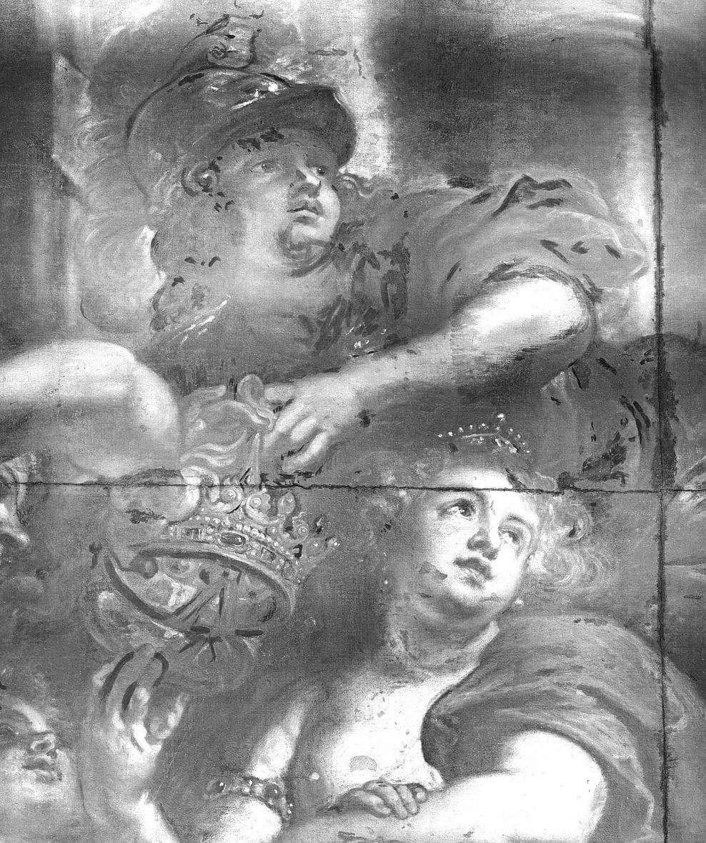 Condition surveys of the ceiling paintings by Peter Paul Rubens, in the Banqueting House, Whitehall, London
