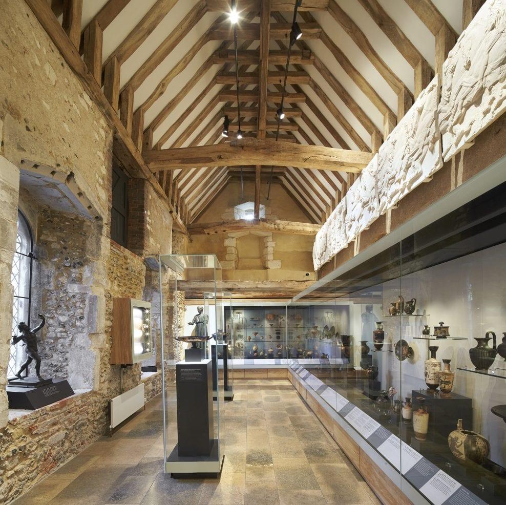 Winchester College Treasury – Installation of Parthenon Frieze Casts